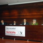 Spain. Contributions from Philosophy for a World in Crisis roundtable at NA Almería (Spain) for World Philosophy Day. With the participation of Fernando Tuvilla, liaison officer working with the UNESCO Civil Network of the UNESCO Center of Andalusia.