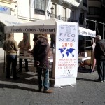 Spain. NA Cadiz promotes World Philosophy Day in the streets.