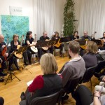 Austria. Friendship talk, with working groups on the theme and a musical atmosphere, organized by NA Salzburg (Austria) for World Philosophy Day.