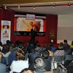 "Peru. Lecture on ""Science and Magic in Classical Greece"" at NA Lima, to mark World Philosophy Day."