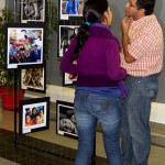 El Salvador. Images to Contemplate photo exhibit presented at two San Salvador (El Salvador) shopping centers, featuring the 40 best photos of a contest organized by NA to celebrate World Philosophy Day.