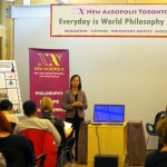 "Ottawa (Canada). During World Philosophy Day, New Acropolis organized an exhibit of philosophical panels followed by an interactive seminar including videos created by UNESCO on ""In the heart of Philosophies, a united Humanity"""