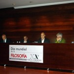 "Almeria (Spain). On the occasion of the celebration of World Philosophy Day, there was a panel discussion entitled ""Contributions of philosophy for a world in crisis"", with participants from the University, the Club Unesco and NA in Almeria."